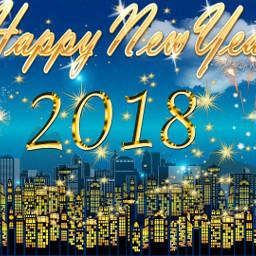happynewyear 2018 vintage myedit madewithpicsart freetoedit
