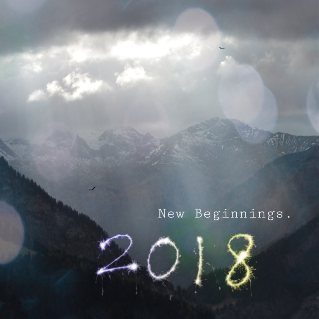 Wishing you all a Happy New Year:)   #newyearsday #2018 #textoverlay #edit