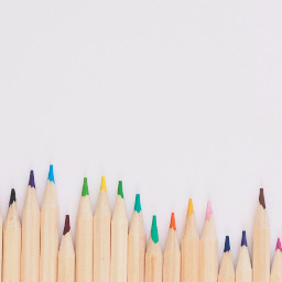 FreeToEdit pencil pencils objects minimal white colorful color drawing wood