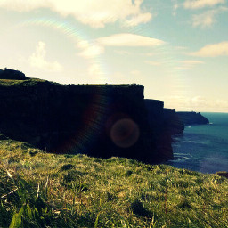 cliffsofmoher lol edit madewithpicsart hastag