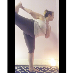 freetoedit yoga yogaeverydamnday dancerspose dancerpose