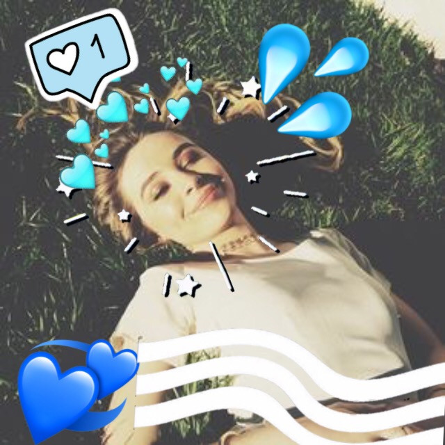 #freetoedit Sabrinaaaa ❤️💜 #blue #leblancxziegler
