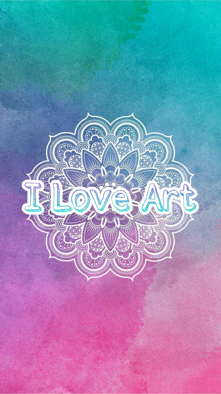 Iloveart Artist Mandala Colors Degradation Acuarelas