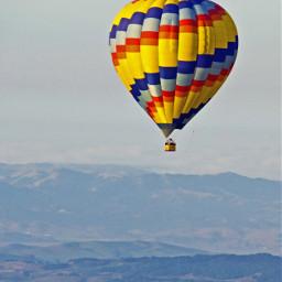 hotairballoon napavalley landscape travel