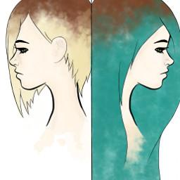 dc2018portrait 2018portrait freetoedit girl drawing