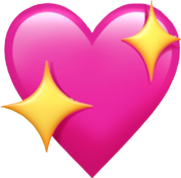 Emoji Corazon Rosa Sticker By Nalle Zurita