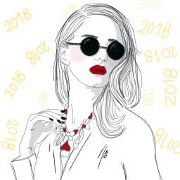dc2018portrait 2018portrait newyear 2018 girl