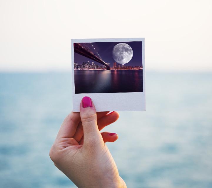 #freetoedit #skyline #moon