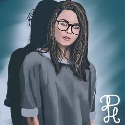 dc2018portrait 2018portrait portrait mydrawing girl