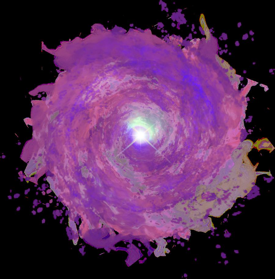 Purple Portal Cool Effect Glow