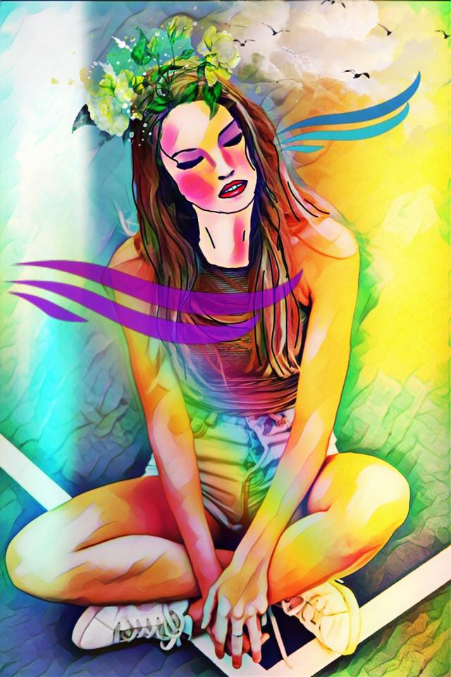 #freetoedit #myedit #drawing #magiceffect #picsart #remixit #remixed