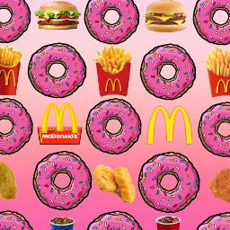 freetoedit mcdonalds goldenarches burger fries