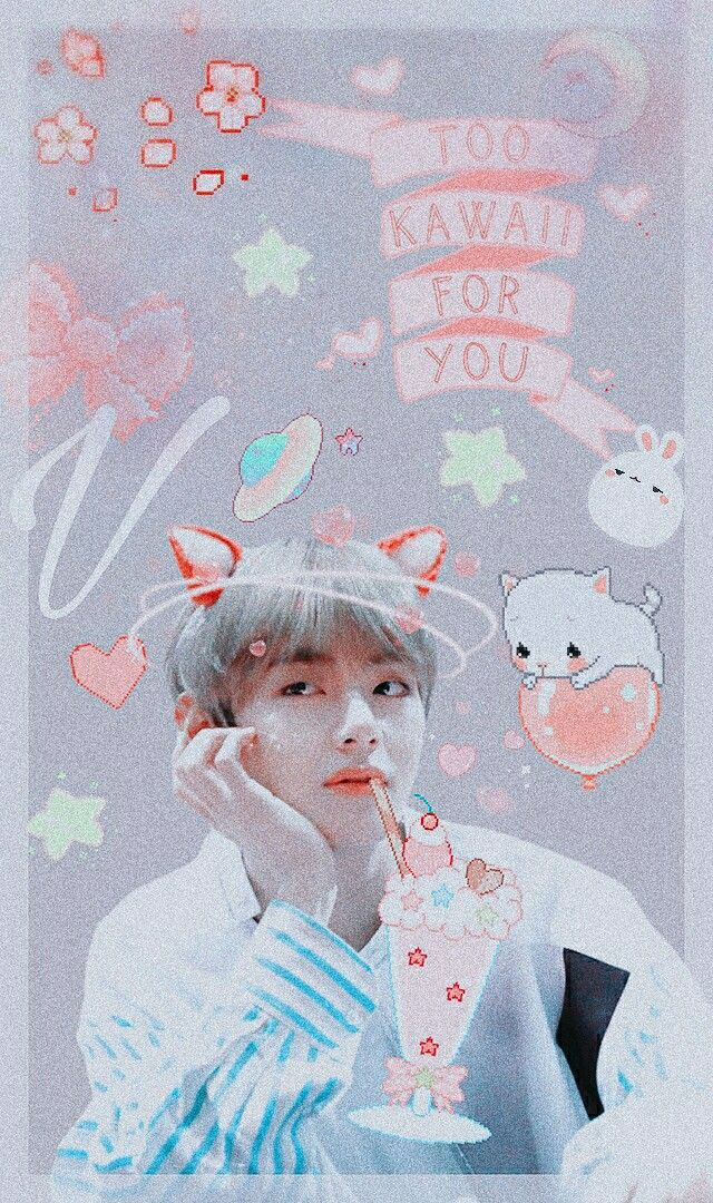 Bts V Kimtaehyung Kpop Wallpaper Lockscreen Army
