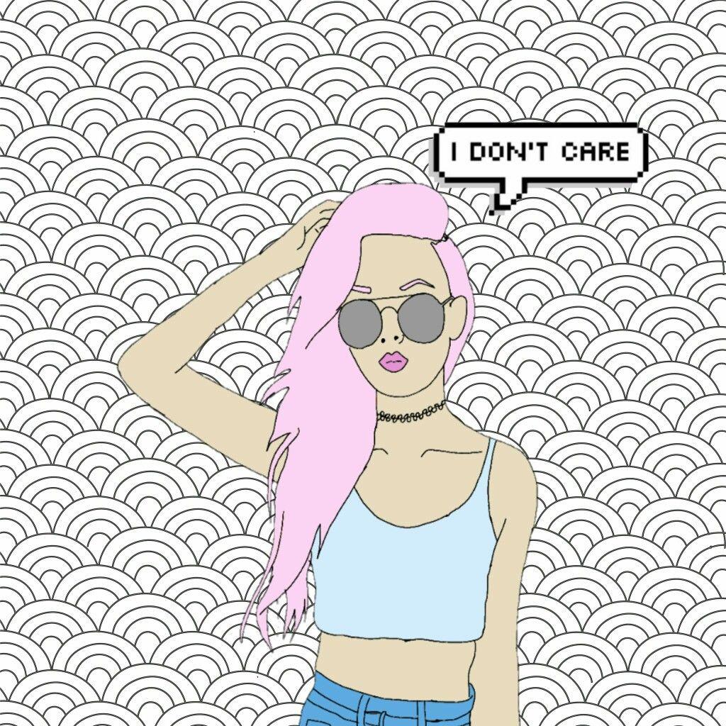 Wallpaper Tumblr Girl Followme FreeToEdit