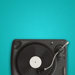 freetoedit blue music turntable vinyl