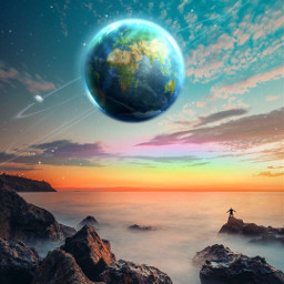 freetoedit remixit landscape blue travel circlesallaround