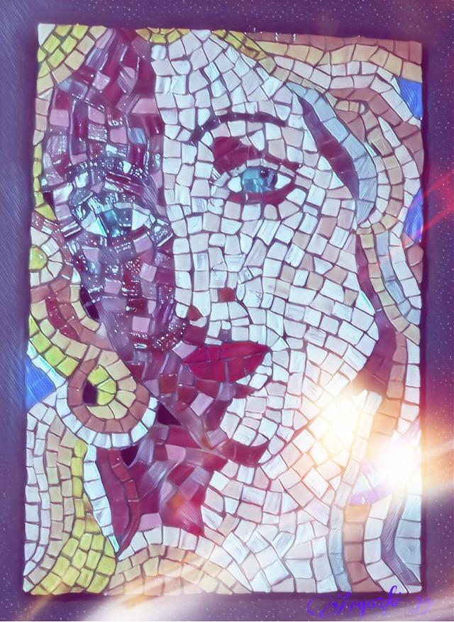 #freetoedit  #art #mosaic #picsarteffects #picsart  #remixit