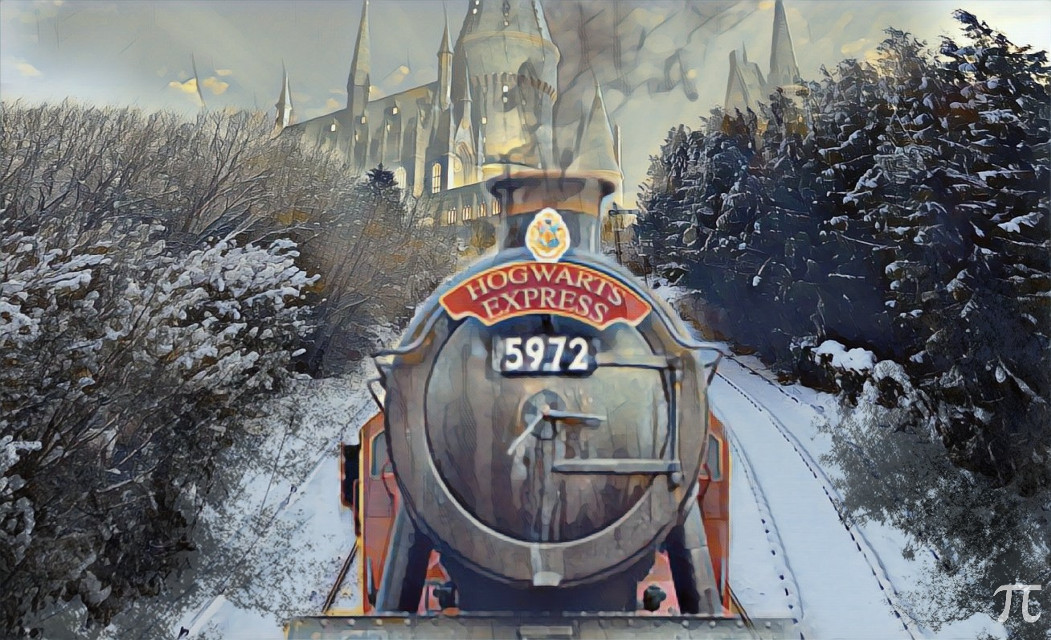 """Hogwarts Express"" Edit by: Parietal Imagination #dailyremixchallenge  #traintracksremix #hogwarts #magiceffect #pa #picsart #madewithpicsart #railwaytrackremix"