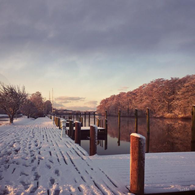 #freetoedit #pocomokeriver #winter #snow #myoriginalphoto