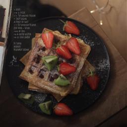 pcfavdessert favdessert voted strawberry waffle