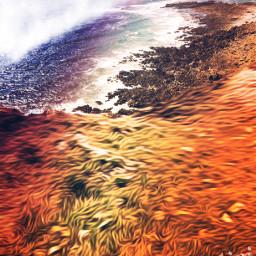 wales surrealism beautiful landscape