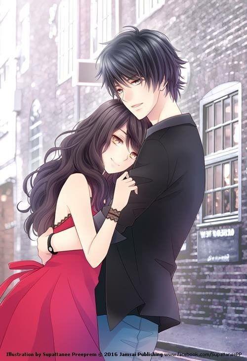 Anime Girlfriend Boyfriend Couple Honey Sweet Love Pret