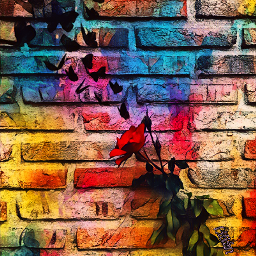 wall pared ladrillos rose rosa freetoedit