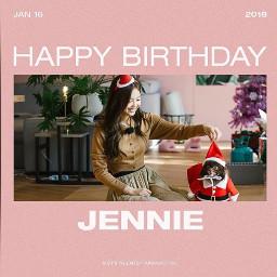 freetoedit jennie happybirthday blackpink yonnie