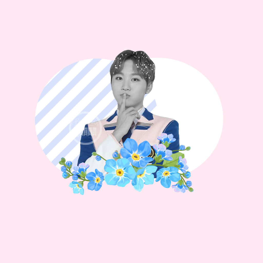 Happy Birthday Seungkwan Kpop Edit Pastel Pink Blu