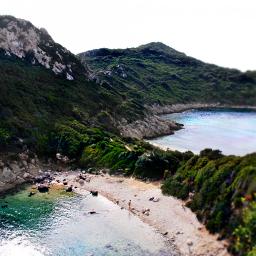 travel greece sea beach