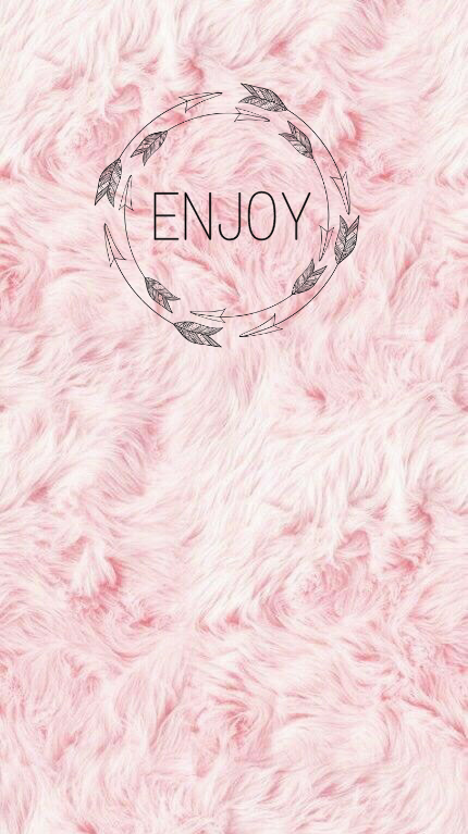 enjoy enjoytoday wallpaper background pink rosegold gir