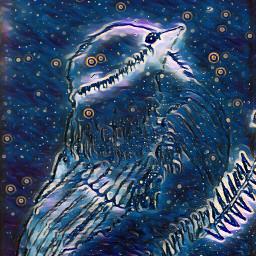 drawing artwork midnightfilter glow