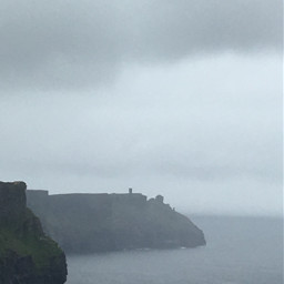 pcfoggy foggy cliffsofmoher ireland cliffs freetoedit