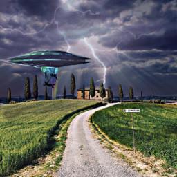 freetoedit remix aliens ufo cloverfield