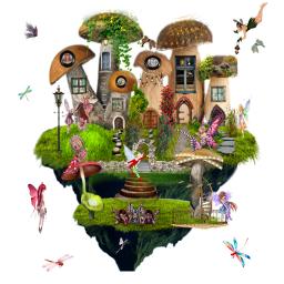freetoedit stickerart fantasyart fantasy fairies