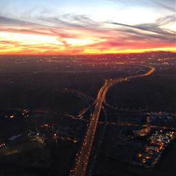 sunset atardecer paisajeaereo aeriallandscape landscape