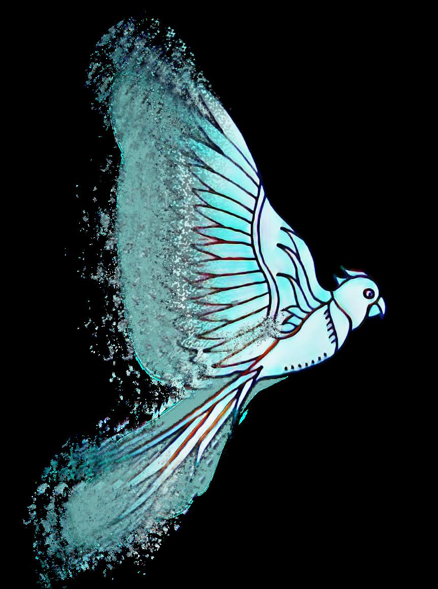 Scmagiceffect Magiceffect Bird Blue Movement