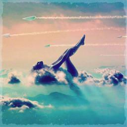 freetoedit blueskys papertrails flightpath remixed