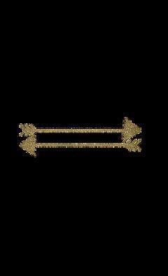 flechas tumblr gold dorado freetoedit