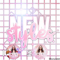 newstyles styles pink white icon