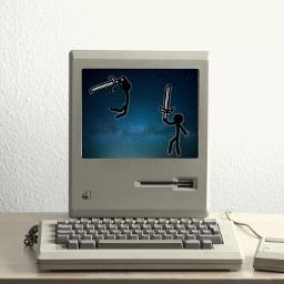 freetoedit computer blue