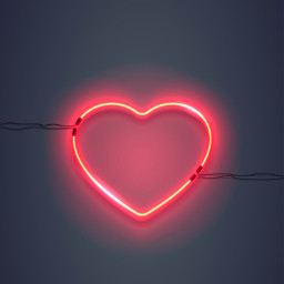 freetoedit heart love neon neonlights