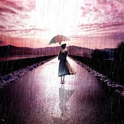 comiceffect freetoedit rain