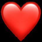 Iphone Emoji Heart iphone emoji heart red...
