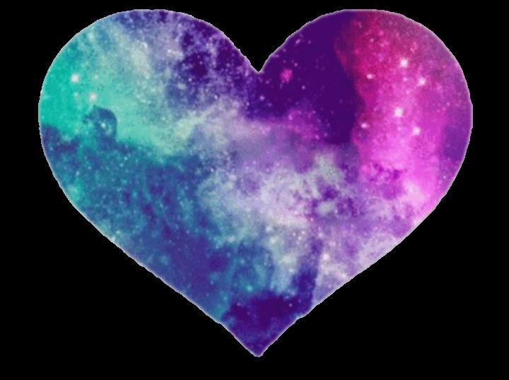 pink blue purple galaxy moon folder color crop custom