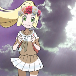 freetoedit lillie pokemonsunandmoon pokemonusum