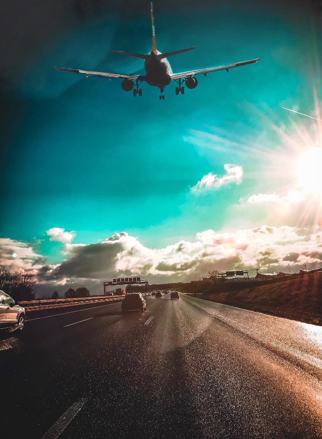 #freetoedit #airport #road #bluesky #moody #moodygrams #moodyblues #nature #naturelovers #naturephotography #instagram #blue #skylovers #sky #skyline #skyscape #flying