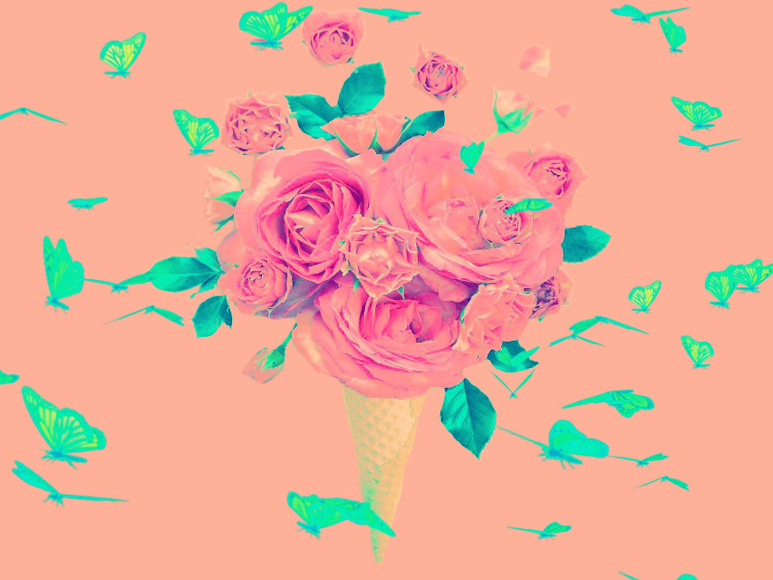 #freetoedit #icecreamcone#somethingpink