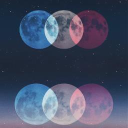freetoedit moon moons hulga1 planets