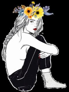 girl tumbler flowers flowerheadbands headbands freetoedit